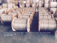 চীন ASTM A 475 Galvanized Guy Wire / Steel Cable Wire With Excellent Anti Rust Performance কারখানা