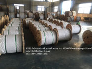 ACSR Galvanized Wire Cable AS3606 BS 4565 , 0.5-5.0mm Gauge Steel Core Wire