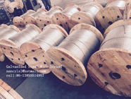 Cold Drawn ASTM A475 Galvanised Steel Wire For Communication Cable
