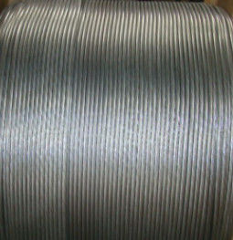 Clean Surface Galvanized Steel Wire Rope , Zinc Coated Wire For Large Concrete Vessels