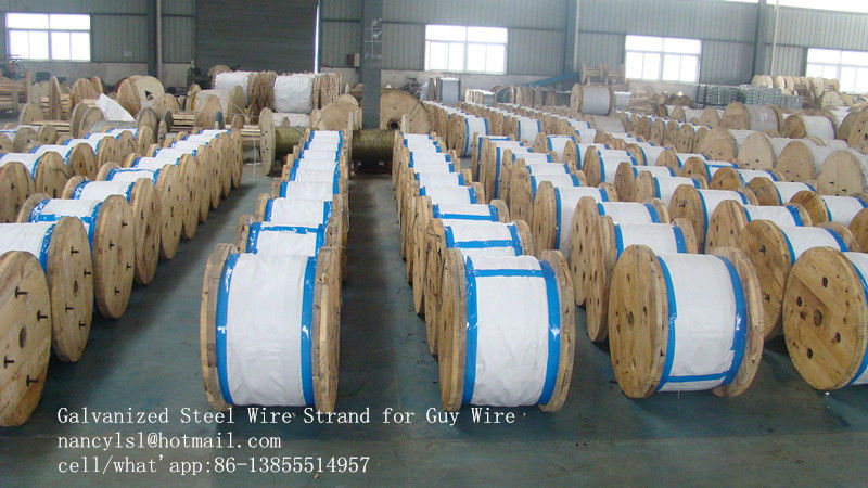 5 16 Inch Galvanized Steel Wire Cable For Overhead Power Transmission Line