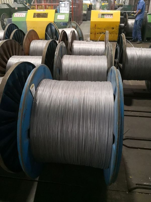 Acs Aluminum Clad Stranded Steel Wire For Electric Conductor Overhead Ground Wire