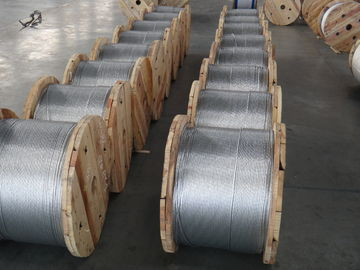 ASTM A 475 1*7 Zinc Coated Steel Wire Strand 1 4 Inch For High - Rise Buildings