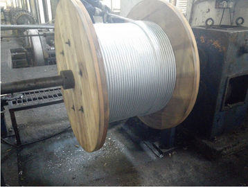 Galvanized Verhead Ground Wire Strand High Tensile Strength For Gabion Mesh